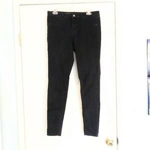 Mossimo Mid-Rise Black Skinny Jeans